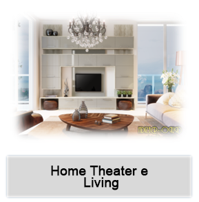 Home Theater - Livings Planejados